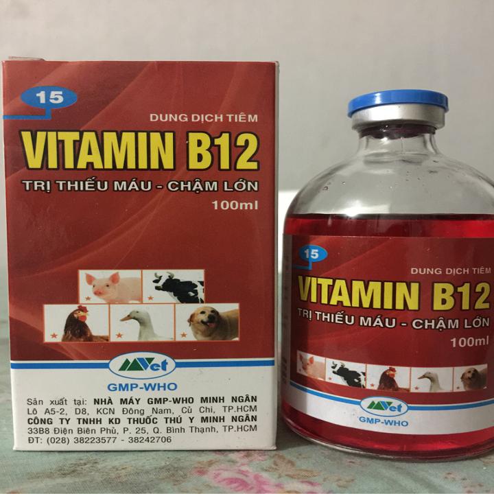 Vitamin B12 - Giải Độc Cho Cây