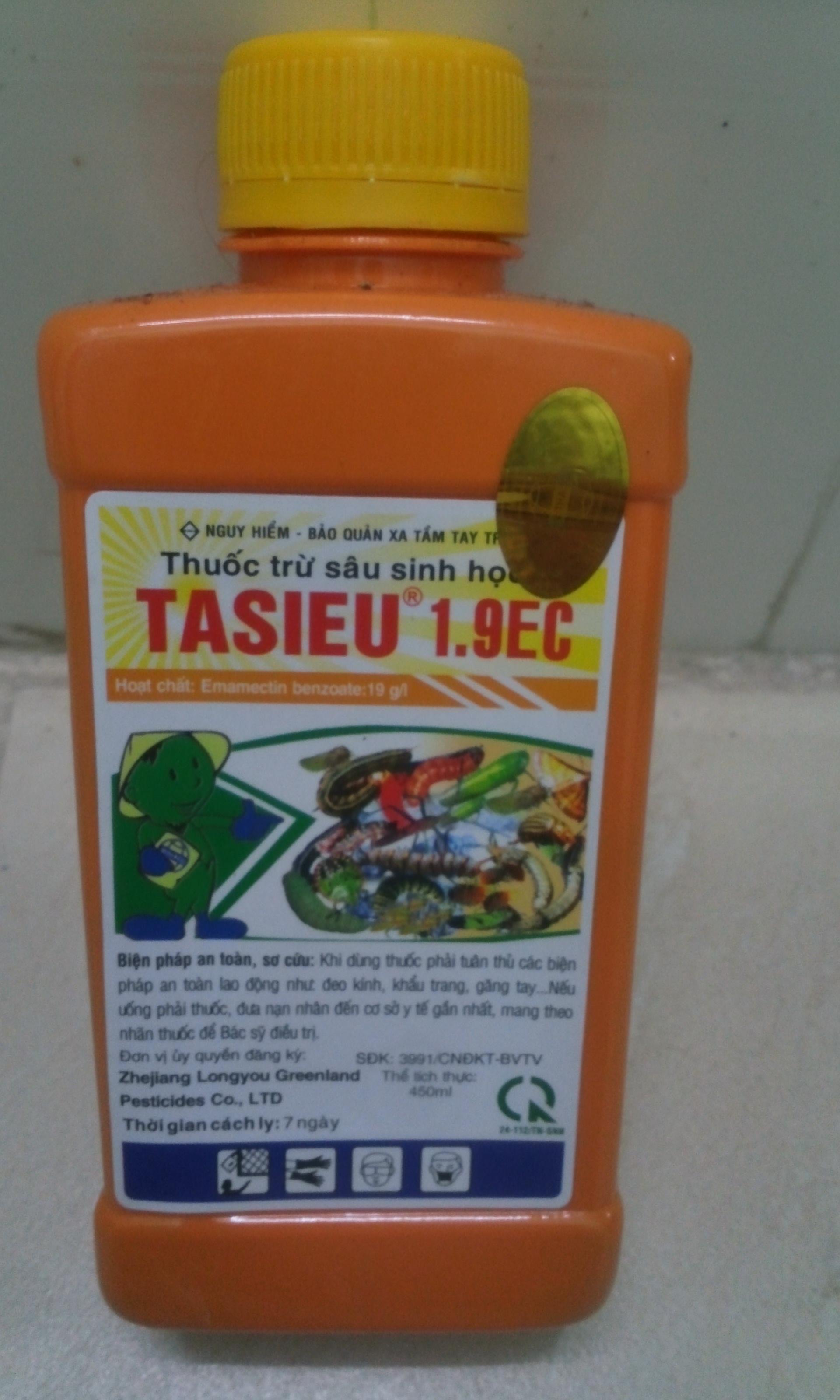 Thuốc trừ sâu sinh học TASIEU 1.9EC 450ml