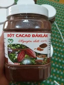 Bột Cacao- Cao Cấp Nguyên Chất Đăk Lăk