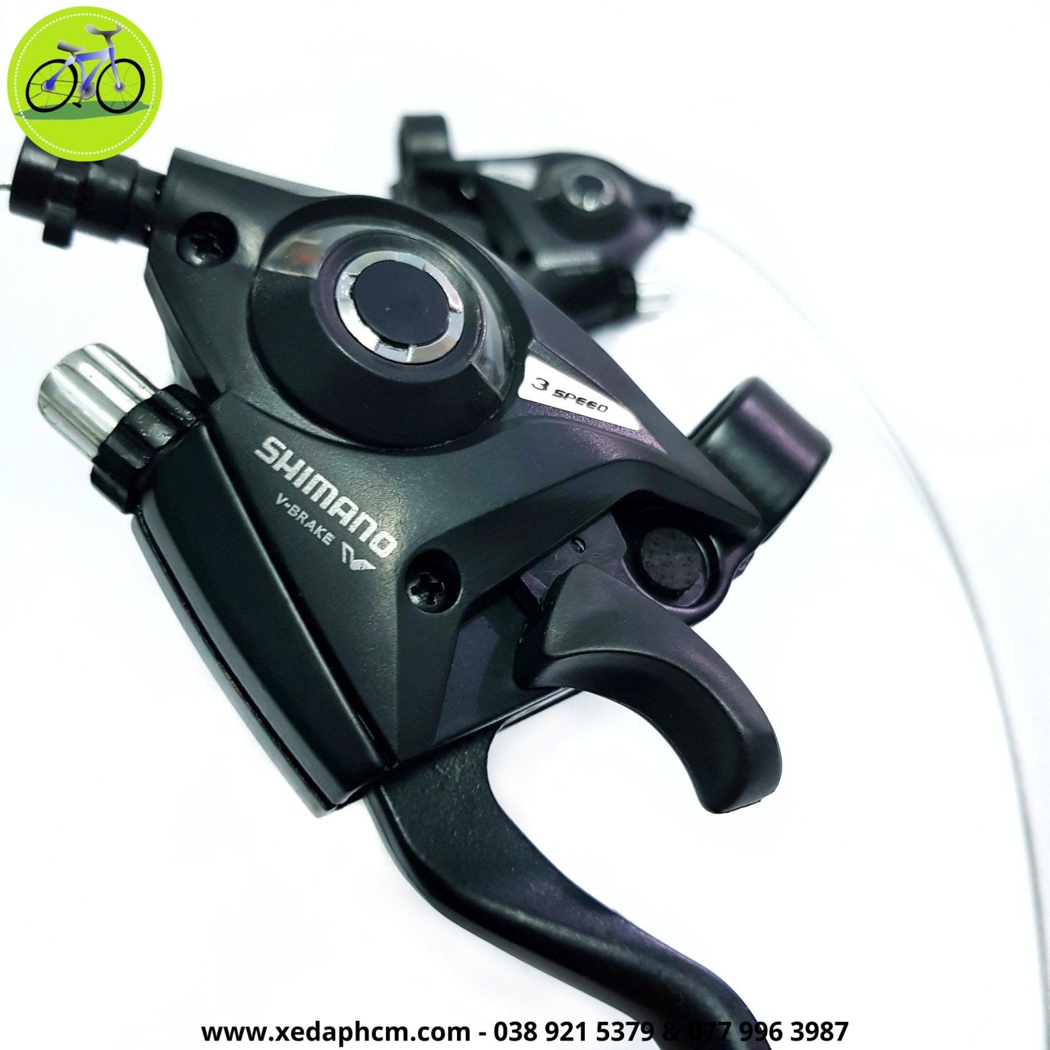 Cặp tay đề xe đạp Shimano ST-EF51 3x7 Speed