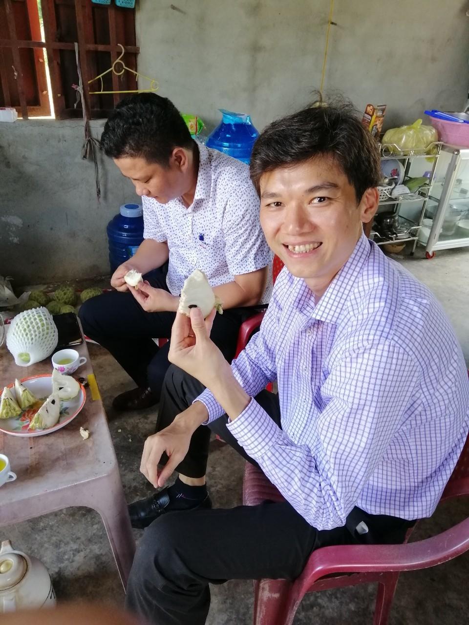 Combo thùng 5kg Mãng cầu Hoàng Hậu Tây Ninh