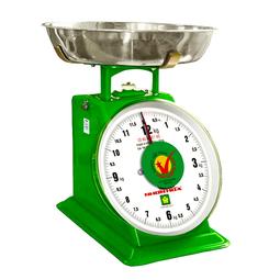 CÂN ĐỒNG HỒ LÒ XO NHƠN HÒA 12kg MẶT SỐ 8 INCHES (CĐH-12) - TẶNG KÈM CÂN 5KG BỎ TÚI MINI NHƠN HÒA - CHÍNH HÃNG