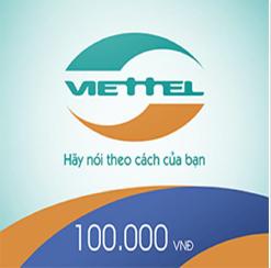 THẺ CÀO VIETTEL MỆNH GIÁ 100.000