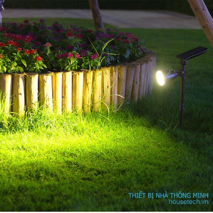 Đèn soi tiểu cảnh năng lượng mặt trời HT1218