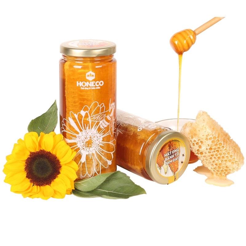 Mật ong bánh tổ Tam Đảo 560g - Đặc sản Ong Tam Đảo Vĩnh Phúc