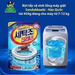 Bột vệ sinh lồng máy giặt