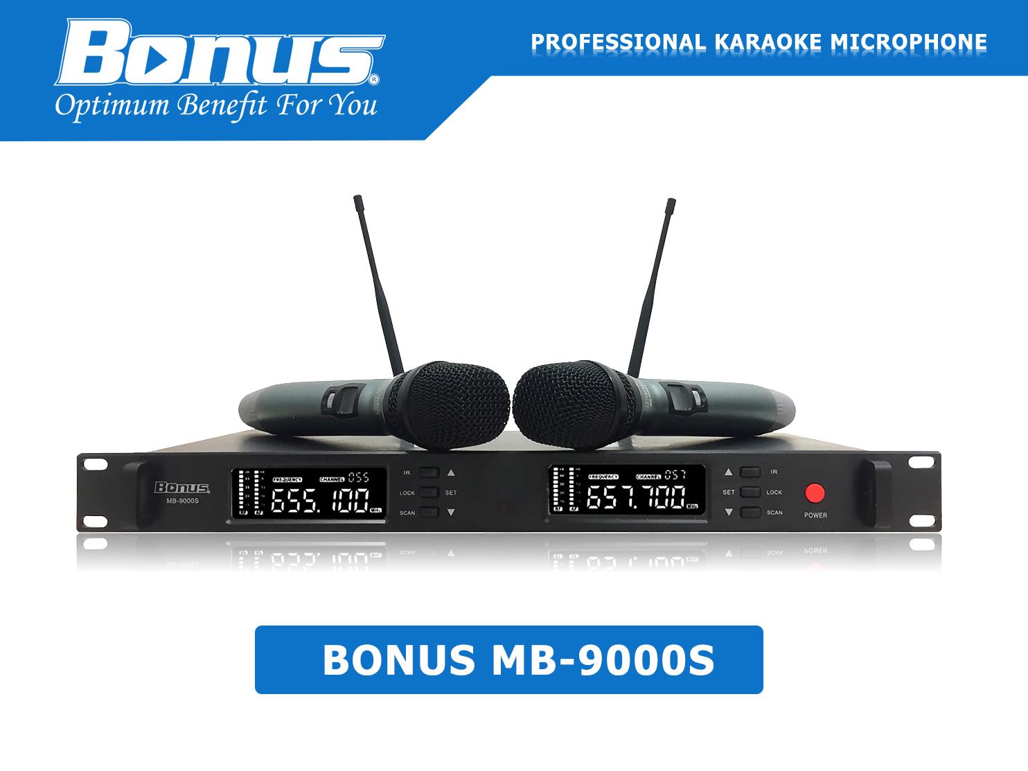 Micro karaoke Bonus Audio MB-9000S không dây