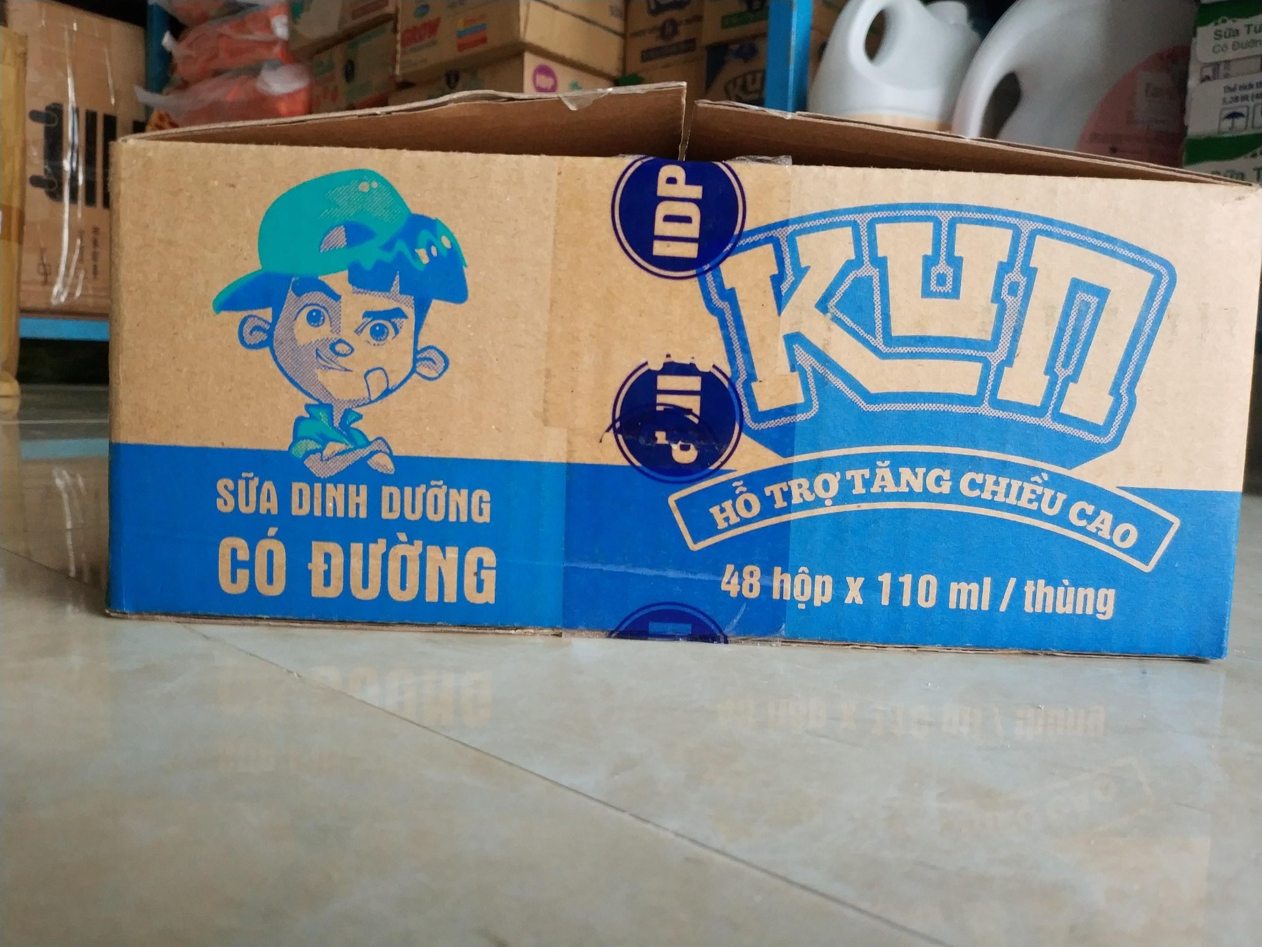 Sữa Kun hỗ trợ tăng chiều cao 110ml