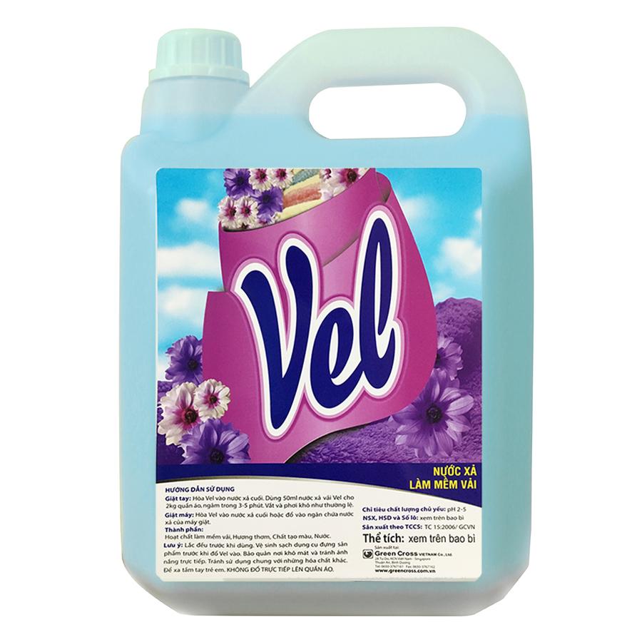 Combo 6 chai Nước xả vải VEL THƯỜNG Hương Nước Hoa- mỗi chai 800ml
