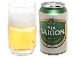 Bia Sài Gòn Lager _ HUG