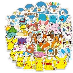 Bộ 80 miếng Sticker hình dán Pokemon