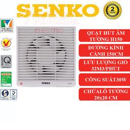 Quạt hút thông gió 2 chiều gắn tường Senko H150
