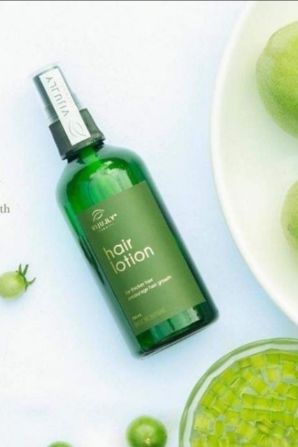 Xịt tinh dầu bưởi ngăn rụng tóc lotion hair vijuly