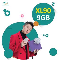 Sim 4G Viettel XL90 Khuyến Mại 9GB-Tháng-Nghe Gọi-Nhắn Tin