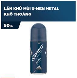 Lăn khử mùi X-men Metal 50ml - Date mới nhất