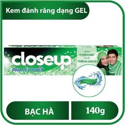 CLOSE UP Kem Đánh Răng Hương Bạc Hà 140G