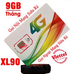 Sim 4G Viettel Tặng 9GB mỗi tháng dùng Internet siêu rẻ chỉ 10K