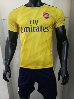 Bộ quần áo bóng đá nam Arsenal 2019 big size, bộ đồ đá banh nam nữ mùa đông, đồ thể thao cao cấp
