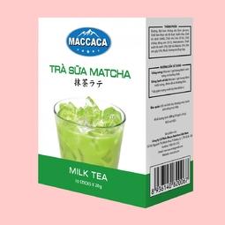 TRÀ SỮA MATCHA MACCACA (Hộp 10 gói x 20g)
