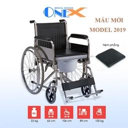 Xe lăn tiêu chuẩn có bô vệ sinh xếp gọn OneX