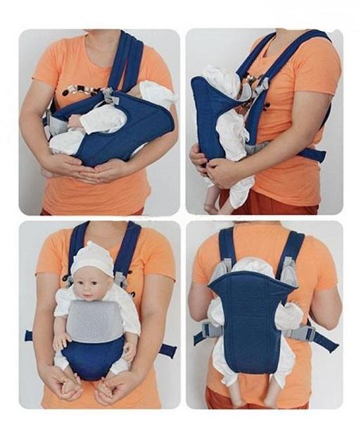 Địu em bé 4 tư thế Baby Carrier model 2018 (PHÂN MÀU) 1000000186