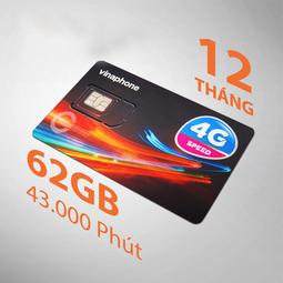 Sim Vina 4G VD89 miễn phí nghe gọi 60Gb 1 tháng