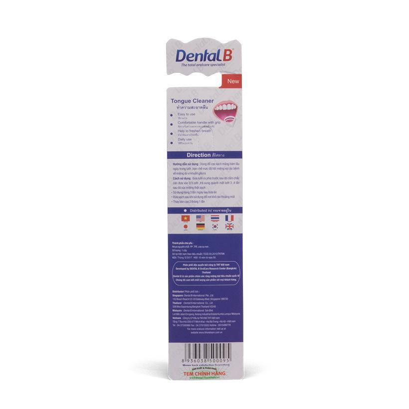 Combo 5 cây cạo lưỡi Dental B – Sạch mảng bám, hết bợn trắng