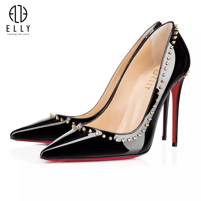 Giày nữ thời trang ELLY - EG51 đen 36