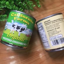 Sữa đặc hữu cơ California Farms hộp 397g