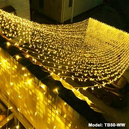 Đèn Chớp Nháy 30m - Dây điện màu trắng - Sáng im - Thế Giới Đèn Nháy
