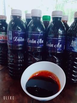 Nước màu dừa nguyên chất Bến Tre