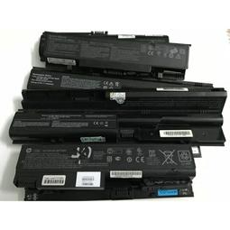 5 thanh pin laptop cũ dùng tháo lấy cell pin 18650