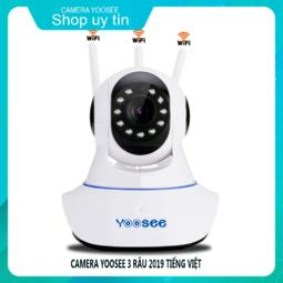 Camera Wifi Xoay 360 Tiếng Việt