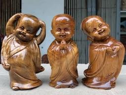 Bộ tượng gỗ Vạn sự tùy duyên