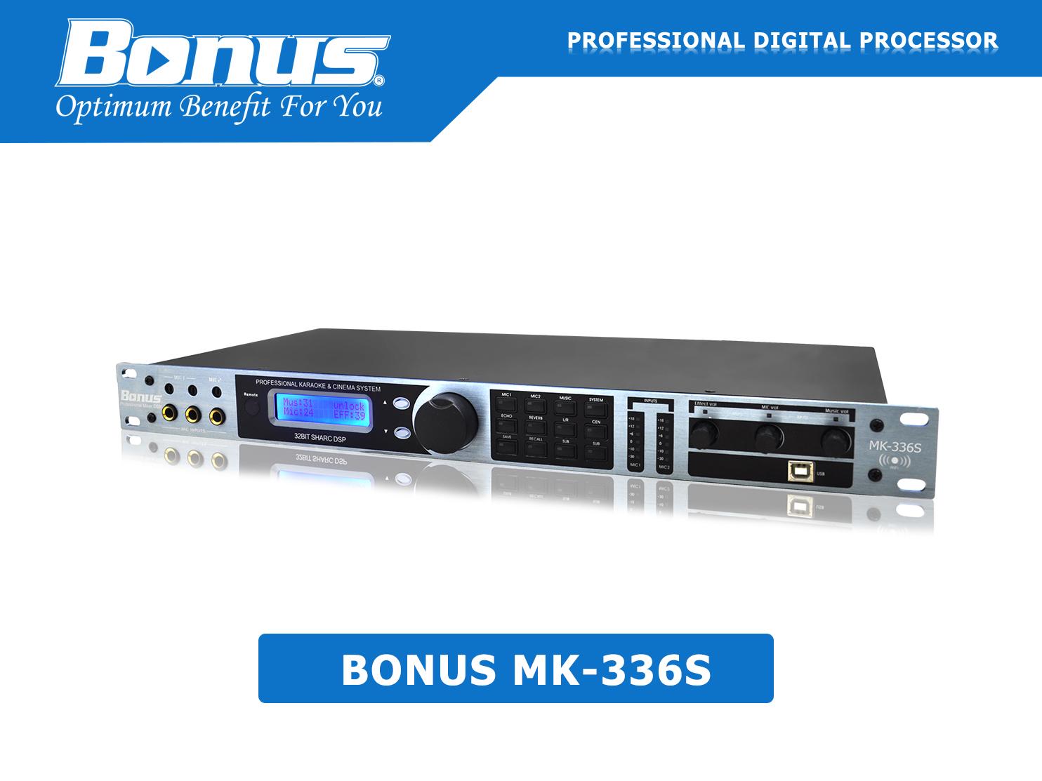 Vang số - Mixer karaoke Bonus Audio MB-336S