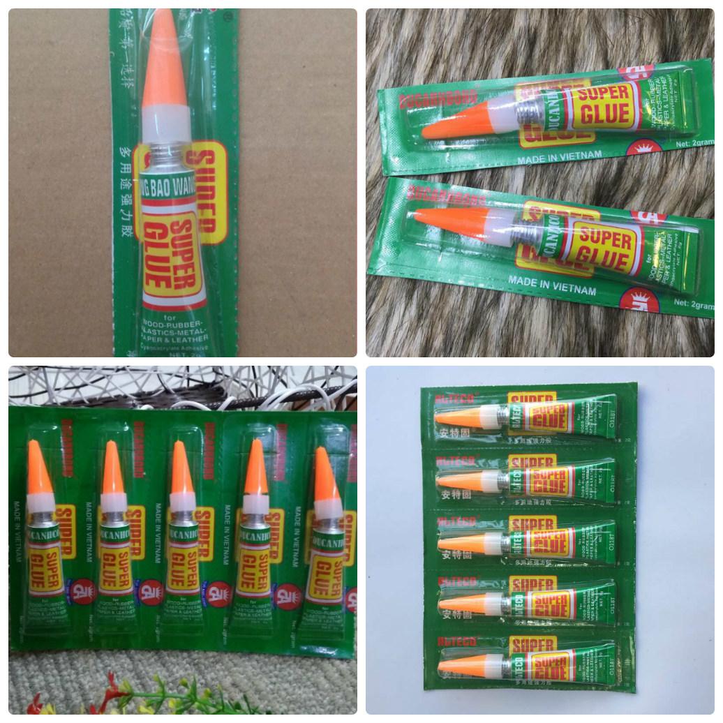 COMBO 02 Keo dán đa năng siêu dính Super Glue (2gr)