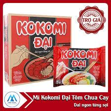 Combo hàng tiêu dùng_03_2 thùng Mỳ tôm Kokomi tôm chua cay gói 90gr