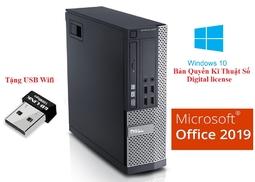 Cây máy tính để bàn Dell Optiplex 790 Cpu G620 Ram 4gb HDD 160Gb. Tặng USB wifi, Không bao gồm màn hình.