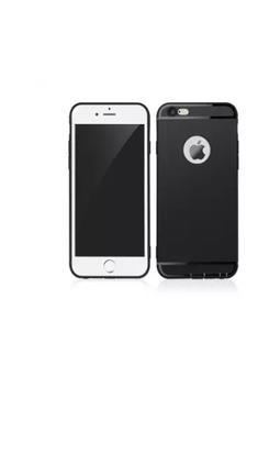 Ốp lưng iPhone 6/6s Silicon dẻo đen 1000001863