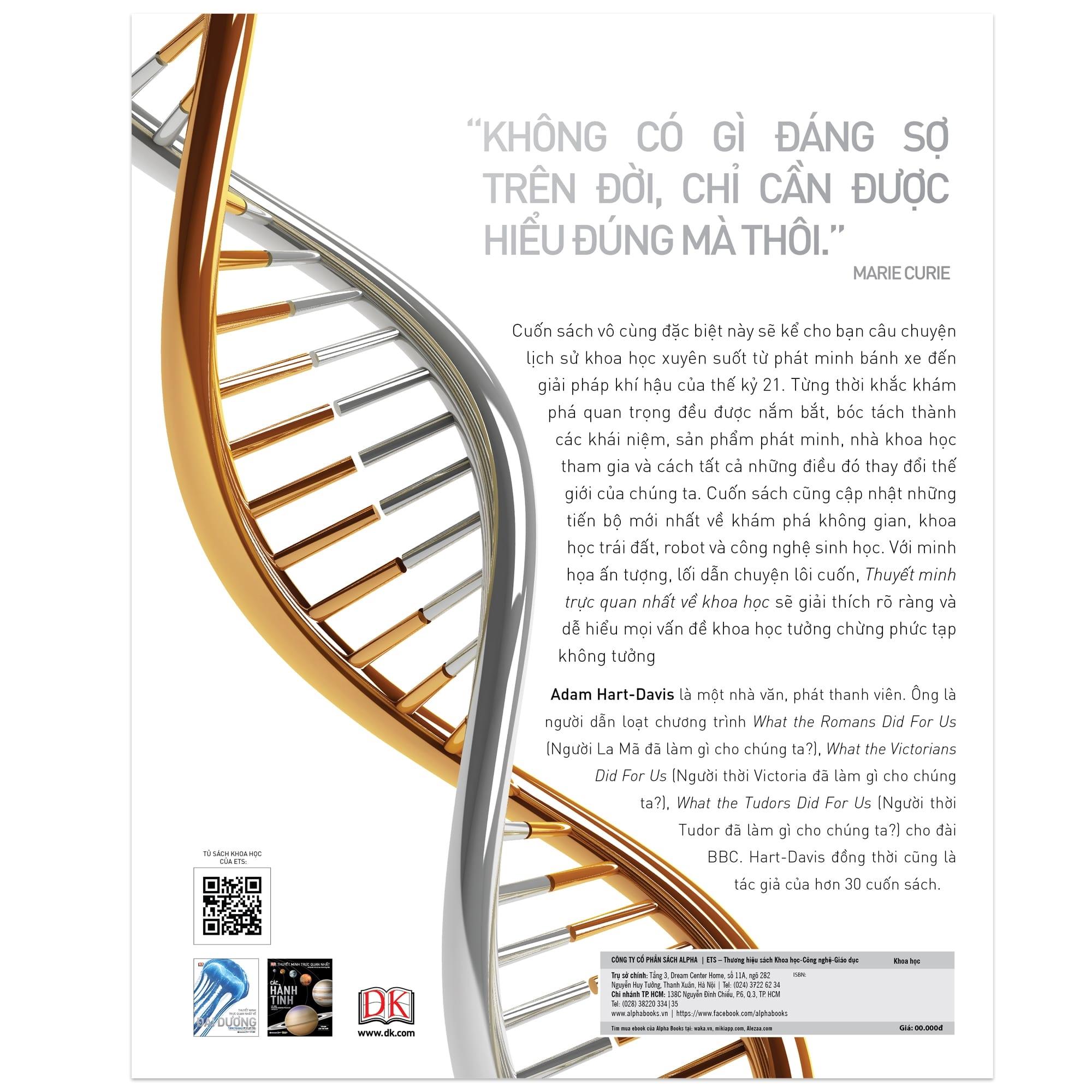 Sách Mới Alphabooks - Science - Thuyết Minh Trực Quan Nhất Về Khoa Học - P711213 | Sàn thương mại điện tử của khách hàng Viettelpost