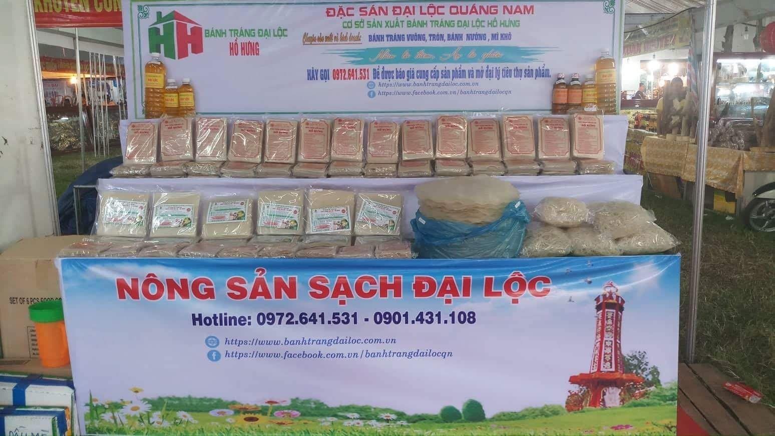 Bánh Tráng  Đại Lộc - Hồ Hưng