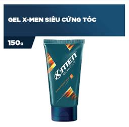 Gel vuốt tóc X-men Siêu cứng tóc 150g - Super Strong Hold - Date mới nhất