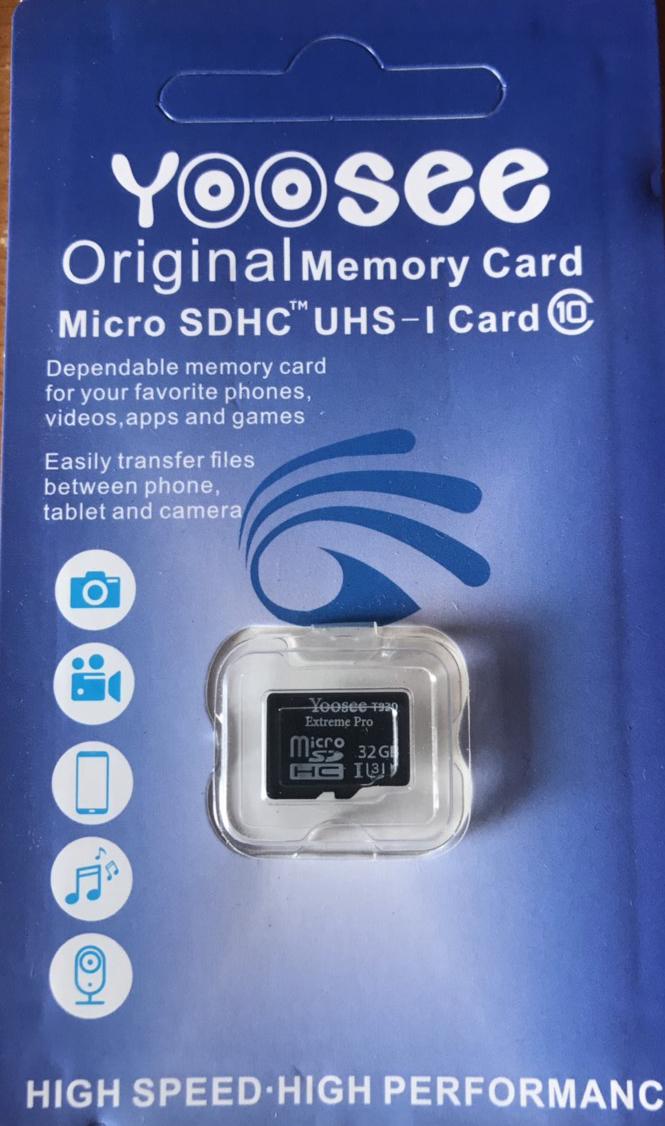 Thẻ Nhớ Yoosee 32Gb Extreme Pro Class 10 U3 - Chuyên dụng cho camera, điện thoại, máy ảnh