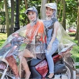 Áo mưa hai đầu trong suốt chất liệu nhựa vi sinh an toàn không dính da Bảo An Store 1000000008